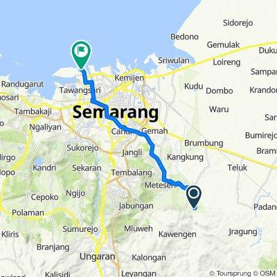 Gowes Kedung Dolok Road, Kecamatan Mranggen to Unnamed Road