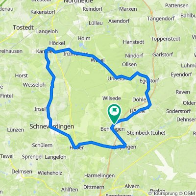 Rennrad Rundtour um die LüneburgerHeide Tour 3