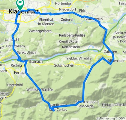 Freibach, Waidischbach: Klgft-Abtei-Zell-Klgft