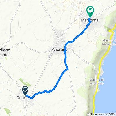 Via Salete 34, Depressa to Via Don Tonino Bello, Marittima