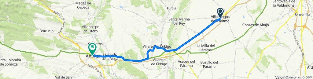 Villadangos del Páramo - Astorga