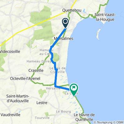 De Route de la Montagne 20, Morsalines à Le Marais 4, Lestre