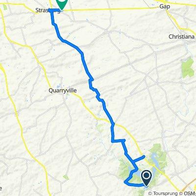 1–83 Ashville Rd, Nottingham to 242 Gap Rd, Ronks