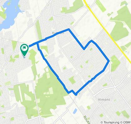 Rue Pierre-Quenneville 1136, Laval to Rue Pierre-Quenneville 1117, Laval