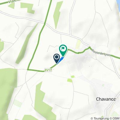 De Chemin des Bruyères, Chavanoz à 13 Chemin des Bruyères, Chavanoz