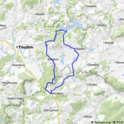 Bezvěrov - Žlutická přehrada
