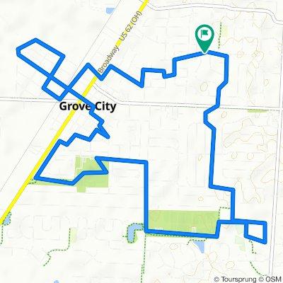 2860 Dennis Ln, Grove City to 2860 Dennis Ln, Grove City