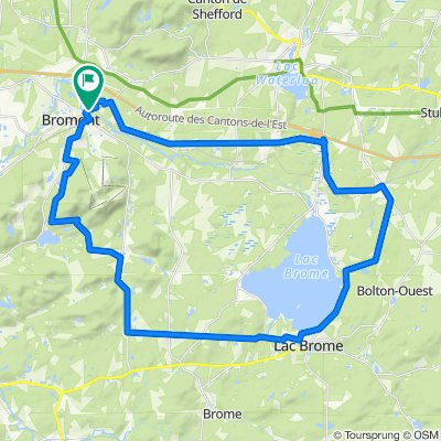 Garnotte 100B7, IronHill et Mont Brome