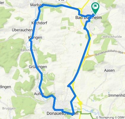 Johann-Peter-Hebel-Weg 13, Bad Dürrheim nach Johann-Peter-Hebel-Weg 13, Bad Dürrheim