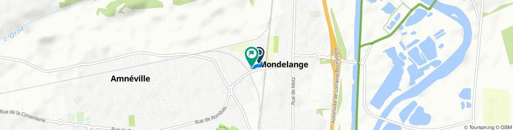 De 1 Impasse du Boulodrome, Mondelange à 18 Rue du Boulodrome, Mondelange