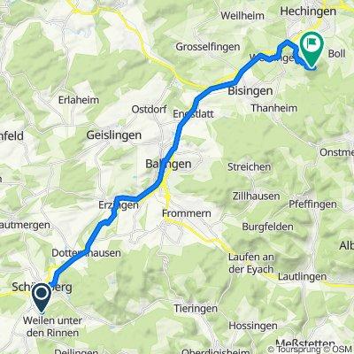 K7134, Schömberg do Hechingen