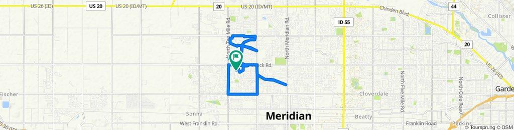 2908 N Fieldstone Way, Meridian to 2908 N Fieldstone Way, Meridian