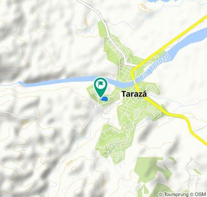 De Tarazá a Tarazá