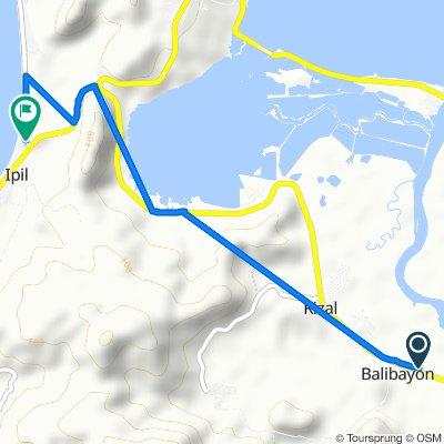 Eastern Nautical Highway, Surigao City to Unnamed Road, Surigao City