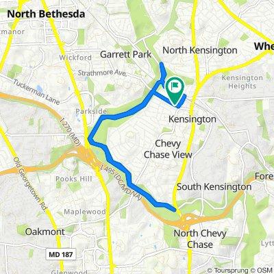 4111 Knowles Ave, Kensington to 4111 Knowles Ave, Kensington
