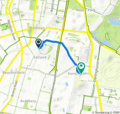 13A Joynton Avenue, Zetland to Kensington Road, Kensington