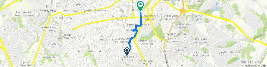 Rota manual + Waze // Parque Areião // FGF