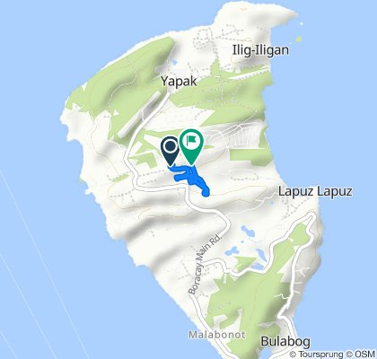 Newcoast Drive, Boracay to Newcoast Drive, Malay