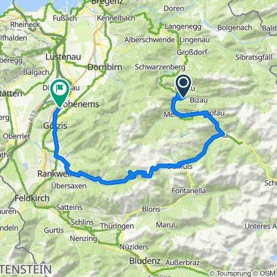 Bad 70, Reuthe nach Sankt-Niklas-Weg 6, Altach