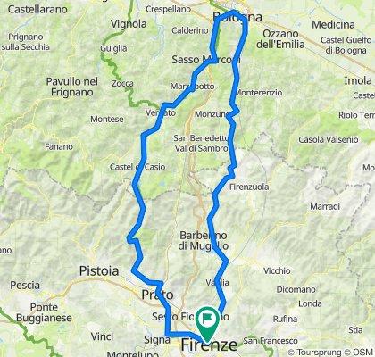 Bologna - Firenze - Bologna E-7