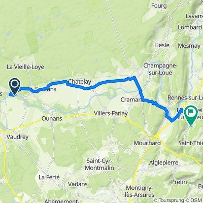 De Belmont à La Chapelle-sur-Furieuse