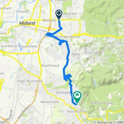 276 Morrison Road, Swan View to 37–41A Byron Road, Kalamunda