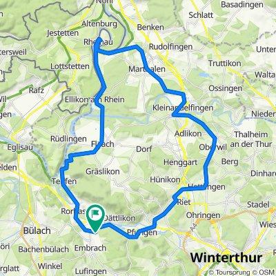 Embrach-Reinau-Andelfingen-Embrach
