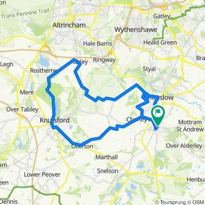 Alderley Edge Cycling