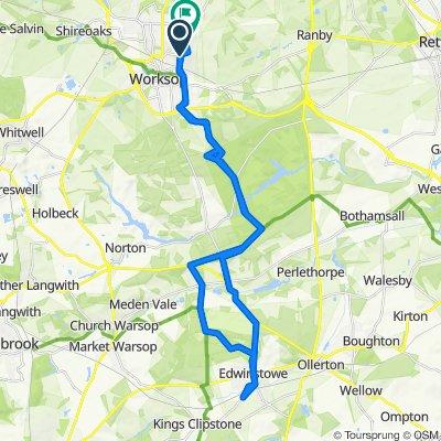 112A Kilton Hill, Worksop to 16 Holding, Worksop