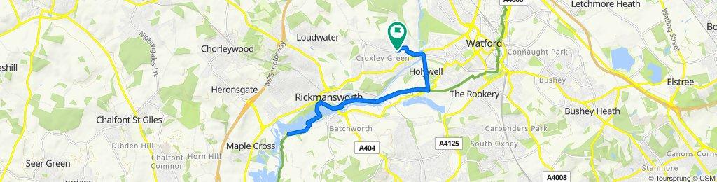 116 Baldwins Lane, Rickmansworth to 116 Baldwins Lane, Rickmansworth