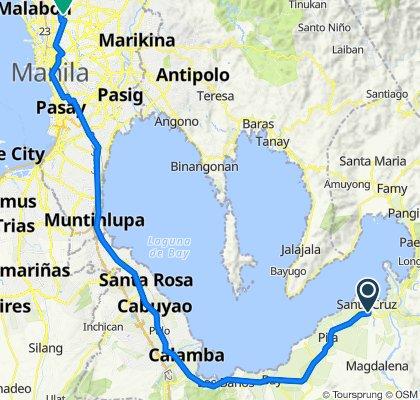 Barangay Patimbao Road 254, Santa Cruz to Intan 26, Manila