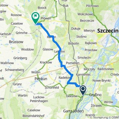 Untere Dorfstraße 11, Mescherin nach Am See 4, Löcknitz