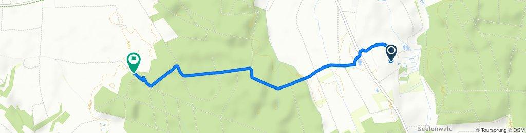 Route von Julius-Schlegel-Straße 17, Dürmentingen