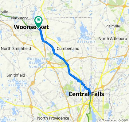 Davison Ave, Woonsocket to Davison Ave, Woonsocket