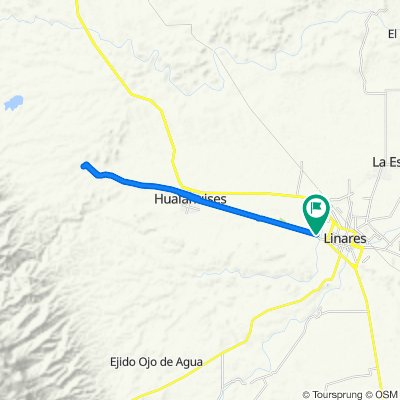 De Camino a Hualahuises, Linares a Camino a Hualahuises, Linares