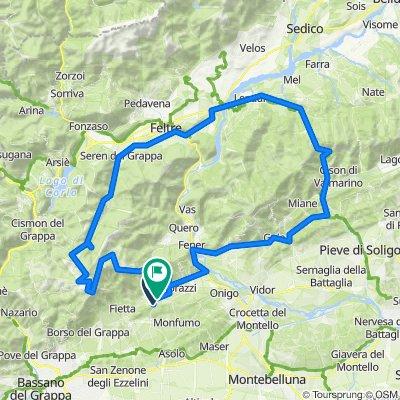 Grappe - Königsetappe 115 km 3100 hm
