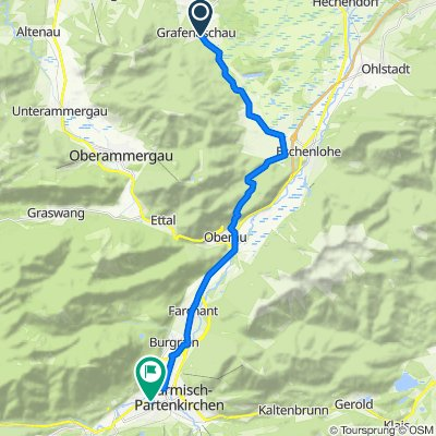 Route im Schneckentempo in Alfdorf