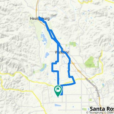 4040 Piner Rd, Santa Rosa to 4040 Piner Rd, Santa Rosa