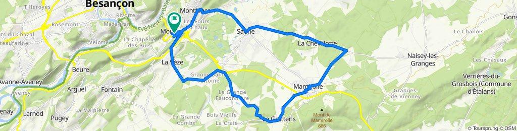 Morre - Mamirolle - La Vèze