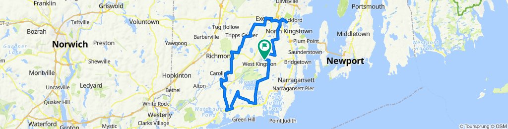 to Charlestown and back