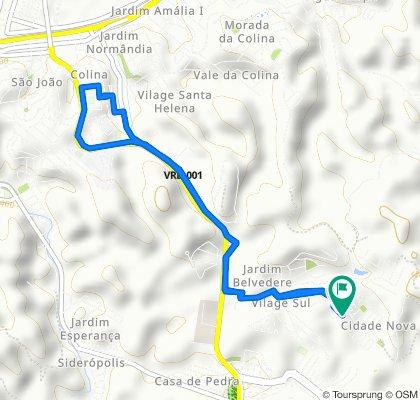 De Rua A, 127–187, Volta Redonda a Rua A, 2, Volta Redonda