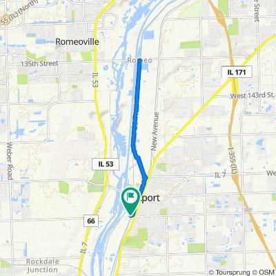 1531–1599 Daviess Ave, Lockport to 306 W Division St, Lockport