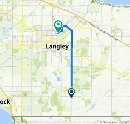216 St, Langley to 66 Ave, Langley