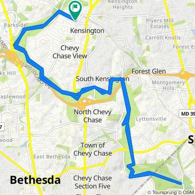 4109 Knowles Ave, Kensington to 4109 Knowles Ave, Kensington