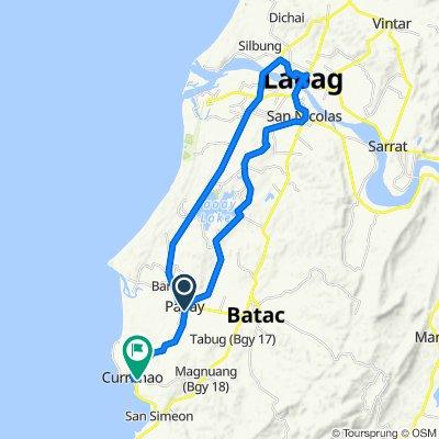 Steady ride in Currimao-Paoay Via Pasil-SanNicolas-Laoag
