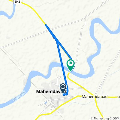 Unnamed Road, Mahemdavad to Gujarat State Highway 3