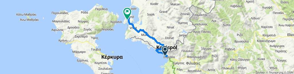 Unnamed Road, Thesprotia to Rruga Freskia, Ksamil
