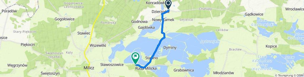 Trasa z Średzina 11, Cieszków