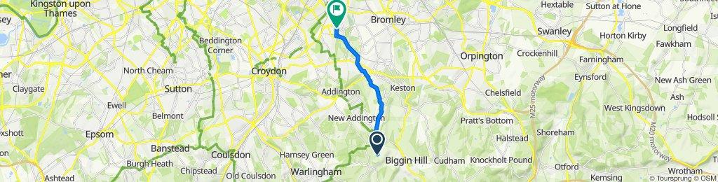 Skid Hill Lane to Cherry Tree Walk 13