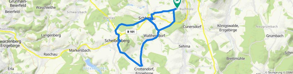 rund um Scheibenberg